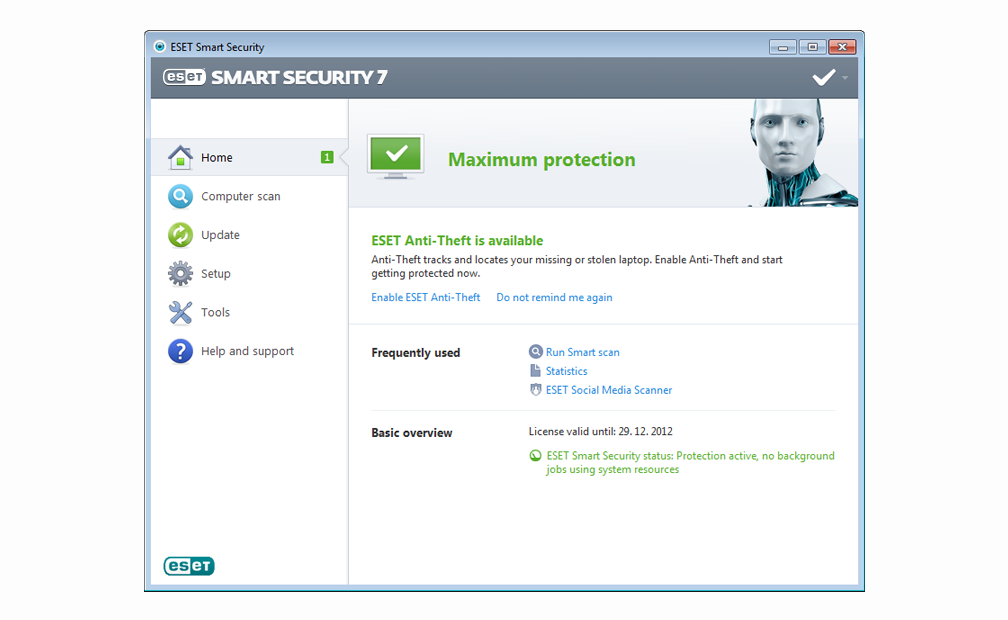 ESET Smart Security Screen Shots