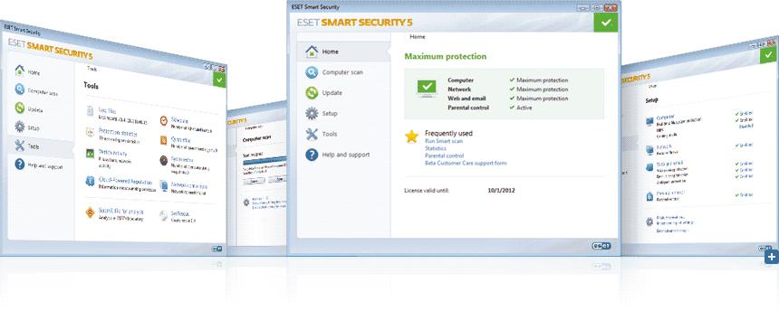 ESET Smart Security Screen Shot